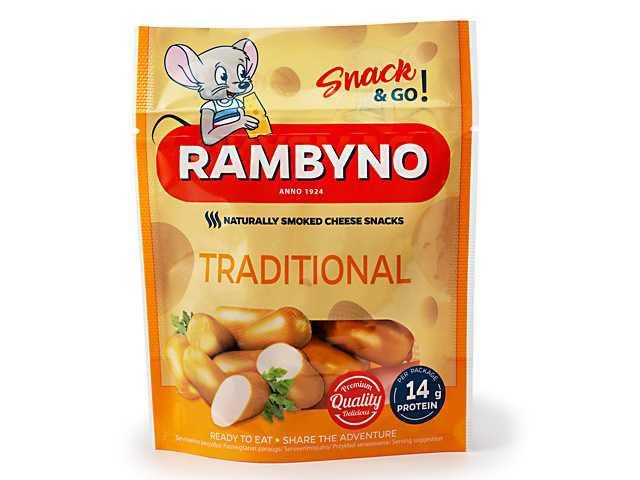Rambyno Cheese SNACK natural 75g