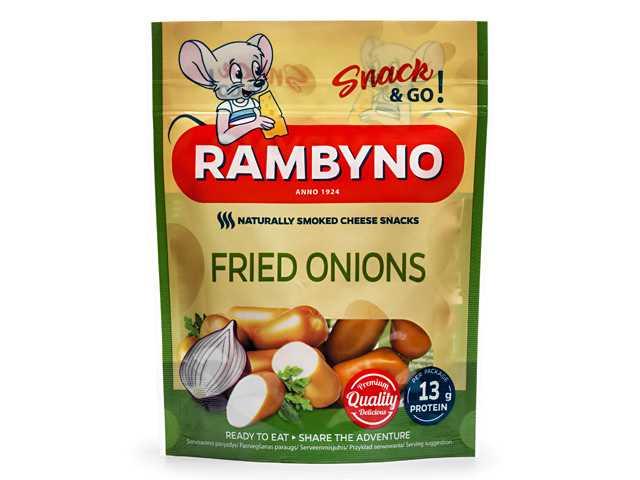 Rambyno Cheese SNACK se smaženou cibulí 75g