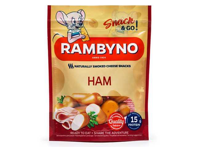 Rambyno Cheese SNACK se šunkou 75g
